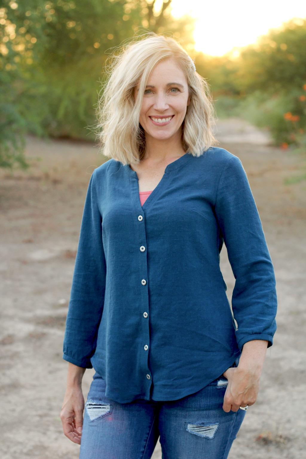 Itch to Stitch Bonn Shirt by Jen—Make It Wear It