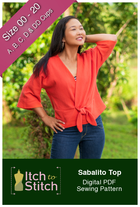 Itch to Stitch Sabalito Top PDF Sewing Pattern