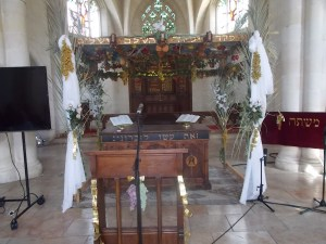 Christ Church's Sukkah