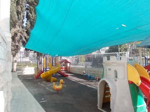 The Sunshine School playground.