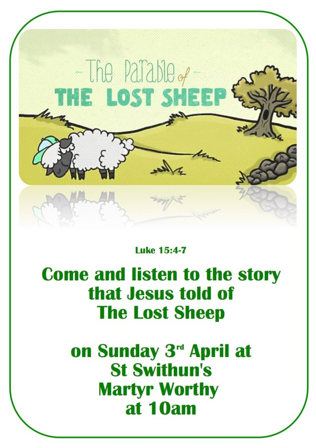 All age service flyer lost sheep