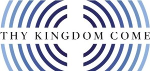 Thy-Kingdom-Come logo with words in centre