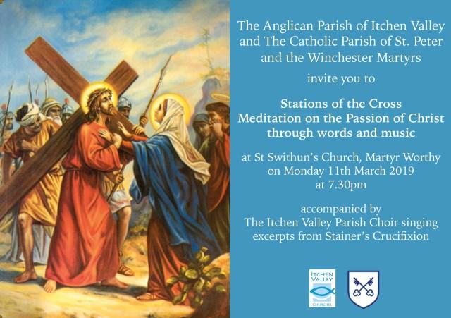 Lenten Stations of the Cross Flyer