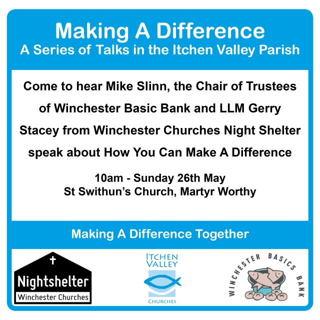 Making a difference together flyer 1