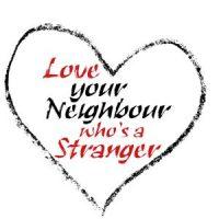 Love your neighbour heart