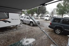 Heathcote Hailstorm