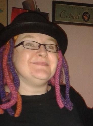 Under a hat