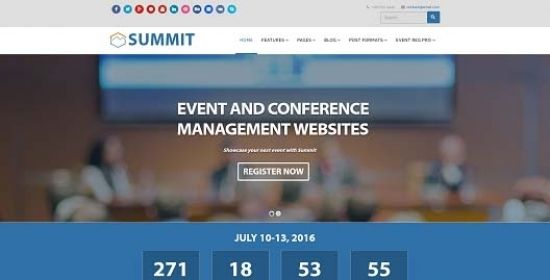 top 10 joomla event and conference templates itdwebdesign com