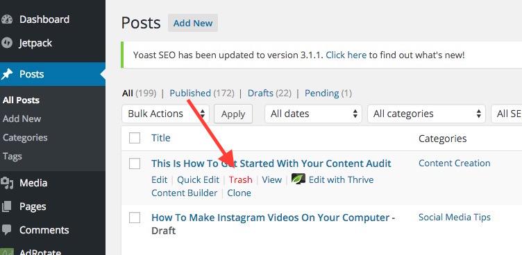 delete-wordpress-blog-post