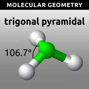 Molecular Geometry - Trigonal Pyramidal