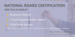 Express Interest in Becoming a National Board Certified Teacher