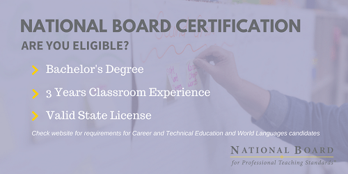express interest in becoming a national board certified teacher – i ...
