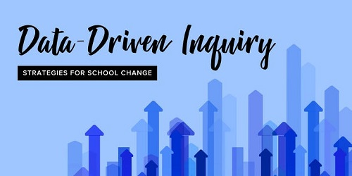 Data- Driven Inquiry Strategies for School Change Graphic
