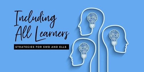 Including All Learners: Strategies for SWD and ELLs Graphic
