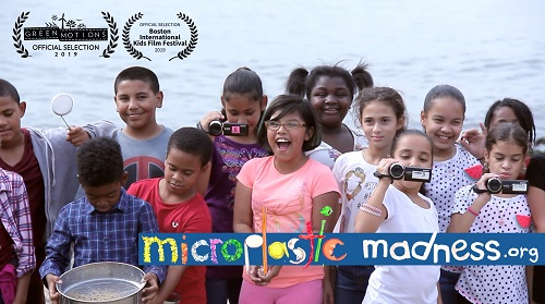 Elementary School Students and the Microplastic Madness Logo