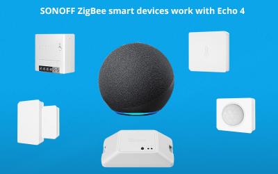 Connect SONOFF ZigBee Devices to Alexa Echo 4