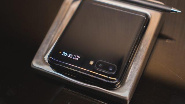 Камера Galaxy Z Flip
