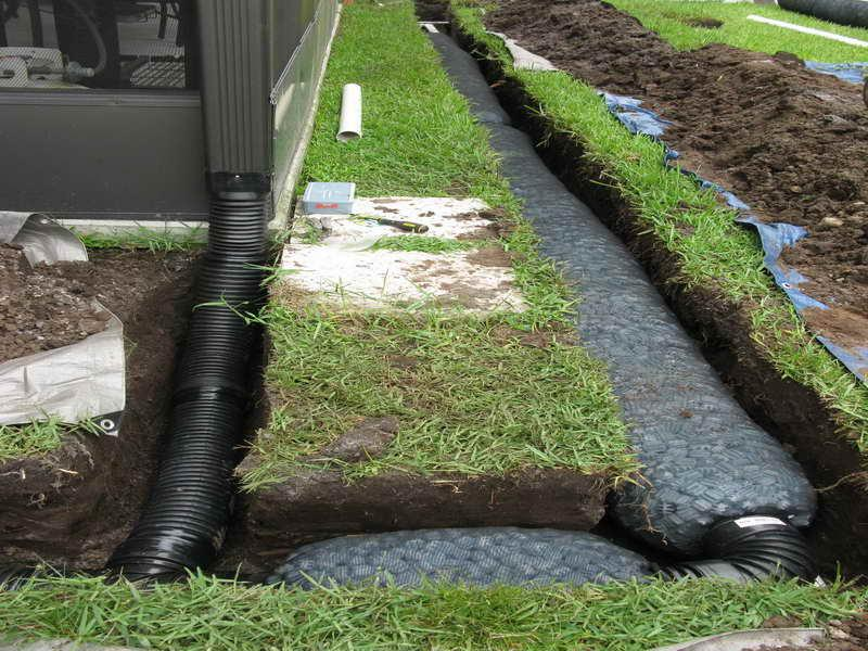 French Drain Basement Before After2