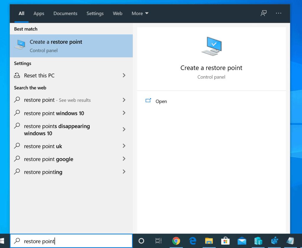 كيفية استعادة الملفات المحذوفة على نظام التشغيل Windows 10 من استعادة النظام