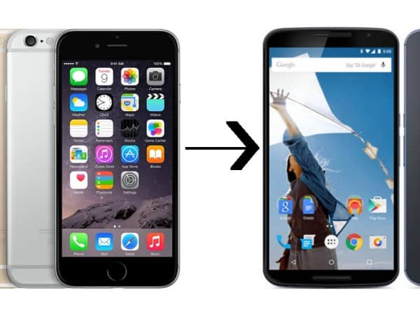 Transfer Files From iPhone To Android