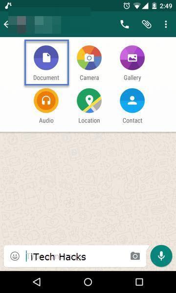 send documents in whatsapp
