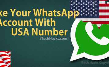 Whatsapp are using worldwide but can we Make Your WhatsApp with USA Number. yes you can create your whatsapp account with USA number legally