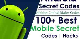 Android Secrets Codes | Hidden Codes | Dialer Codes (Updated List)