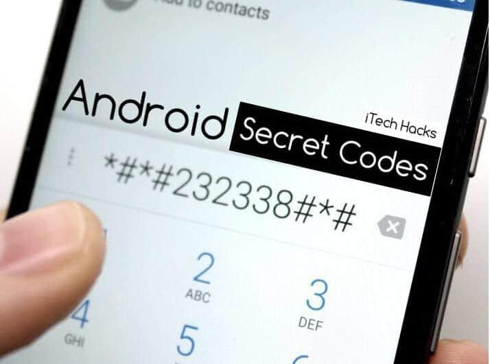Codes secret pdf mobile samsung