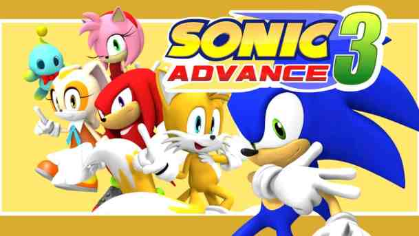 "- Sonic Advance 3 - ""20+"" Best GBA Games (GameBoy Advance) 2018 (Free & Working)"