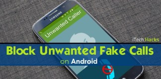 How To Block Unwanted Or Fake Phone Calls/Texts On Android Device.