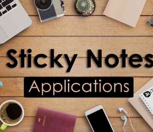 Sticky Notes for Windows 8, Windows 10 (Free)