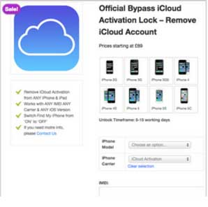 iCloud Bypass Activation Tools 6