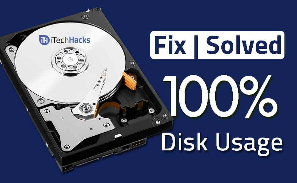 fix 100 disk usage win10