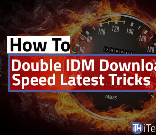 Double IDM Downloading Speed