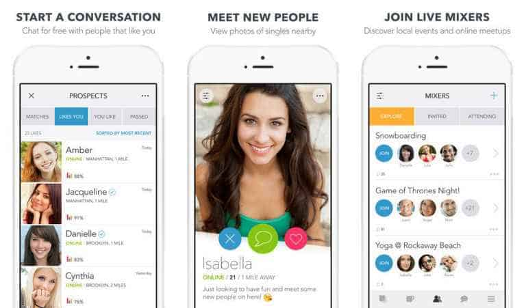 top dating apps for free
