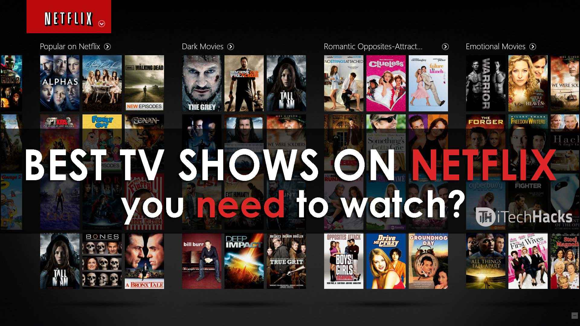 Top Netflix Shows To Watch
