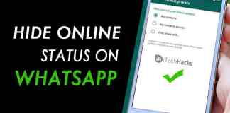 How To Hide Online Status on WhatsApp?