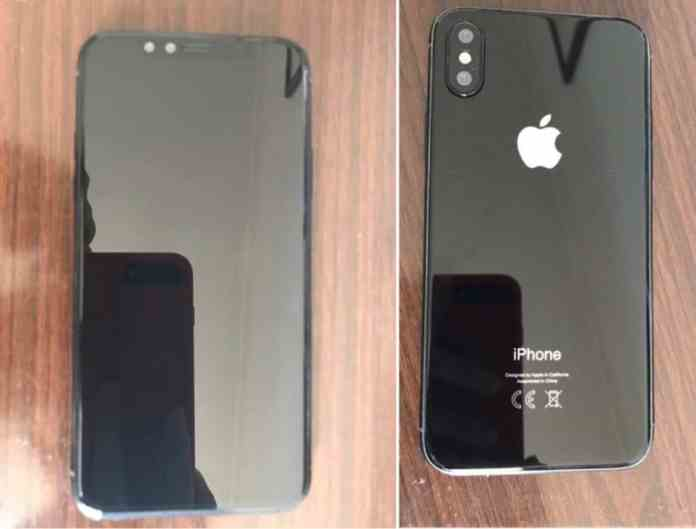 iPhone 8 Body and Sensors: