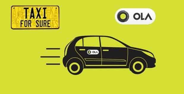 Ola Cabs Best Travel Apps For Android, iPhone