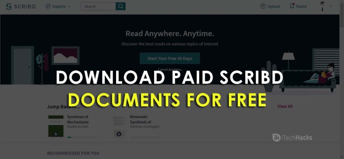 Download Paid Documents from Scribd for Free  - Paid Scribd Documents for Free - How to Download Paid Documents from Scribd (2 Working Ways)