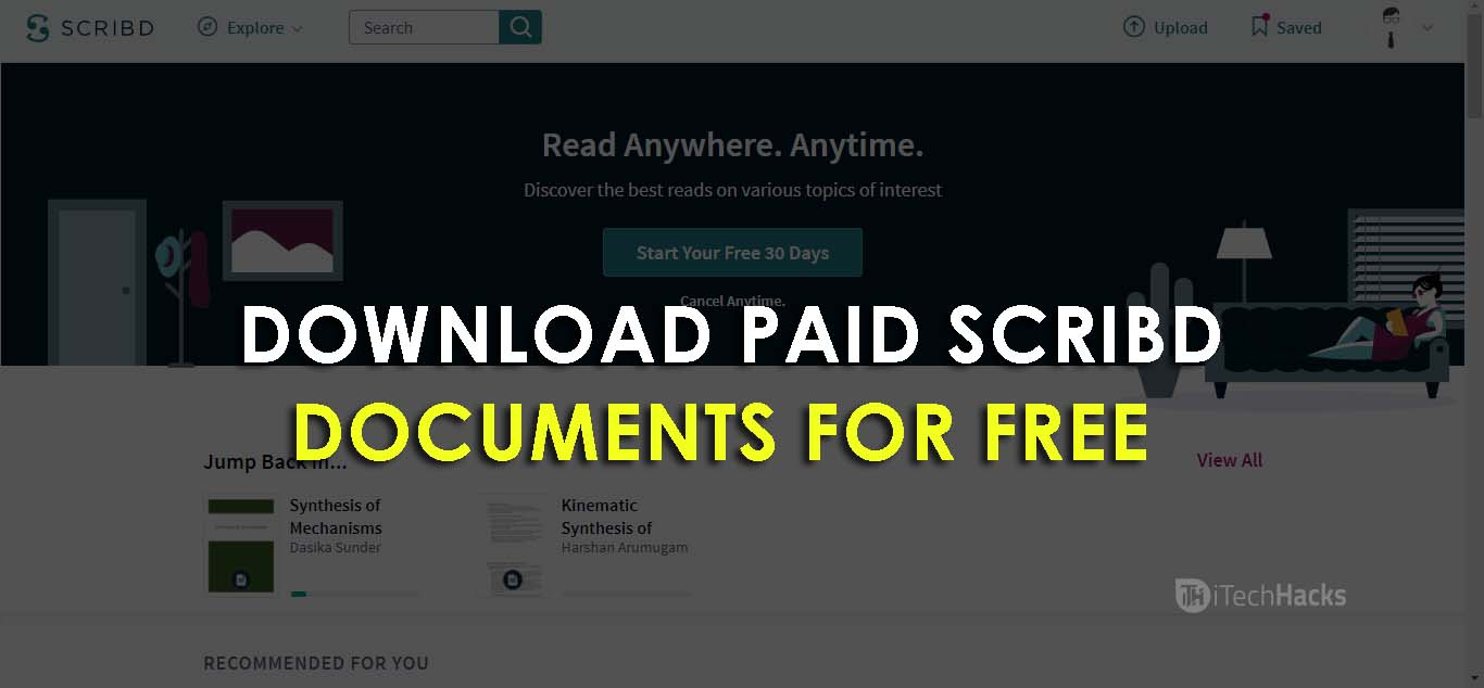 PDF BOOKS FROM SCRIBD DOCUMENT DOWNLOAD