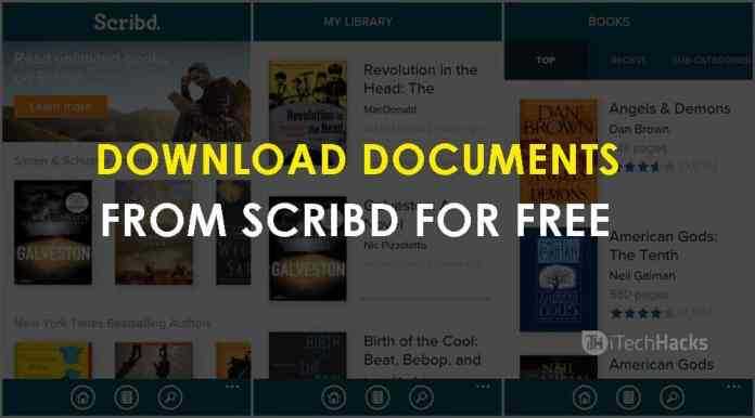 Download Paid Documents from Scribd for Free  - Working Methods To Download Documents from Scribd itechhacks - How to Download Paid Documents from Scribd (2 Working Ways)