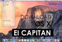 Download OS X El Capitan on Mac .DMG (Working Link)