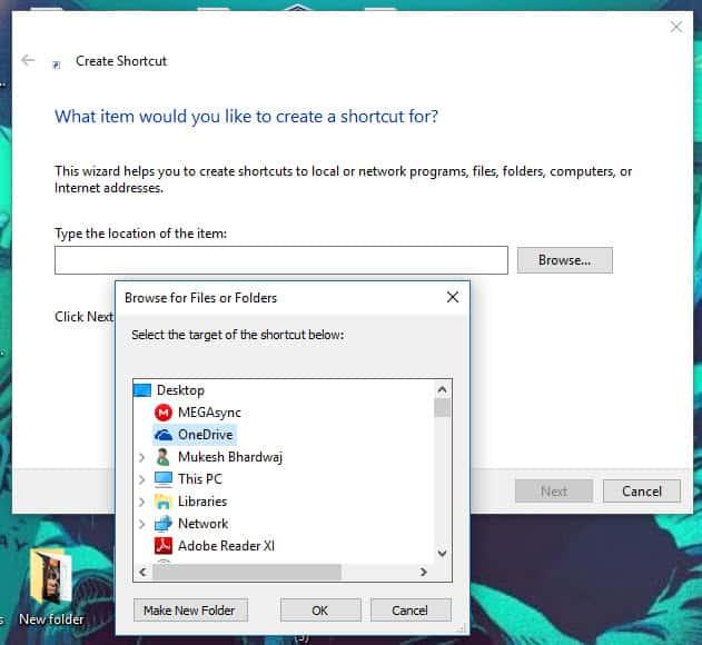 add program to startup folder