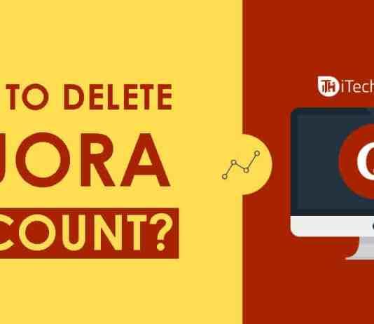 How to Delete Quora Account?   itechhacks.com 2018