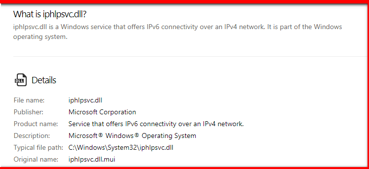 """IP Helper """"IPHLPSVC"""" Services Tuning"""