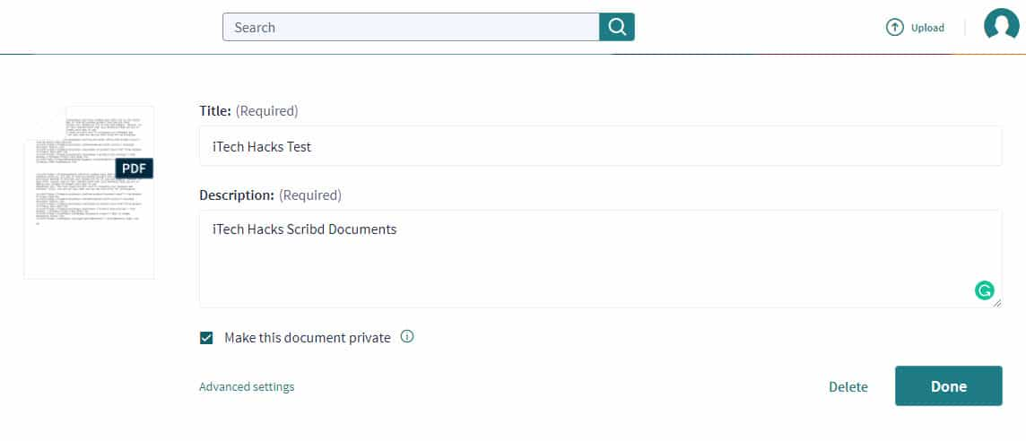 iTech Hacks | How to Download Paid Documents from Scribd in 2019