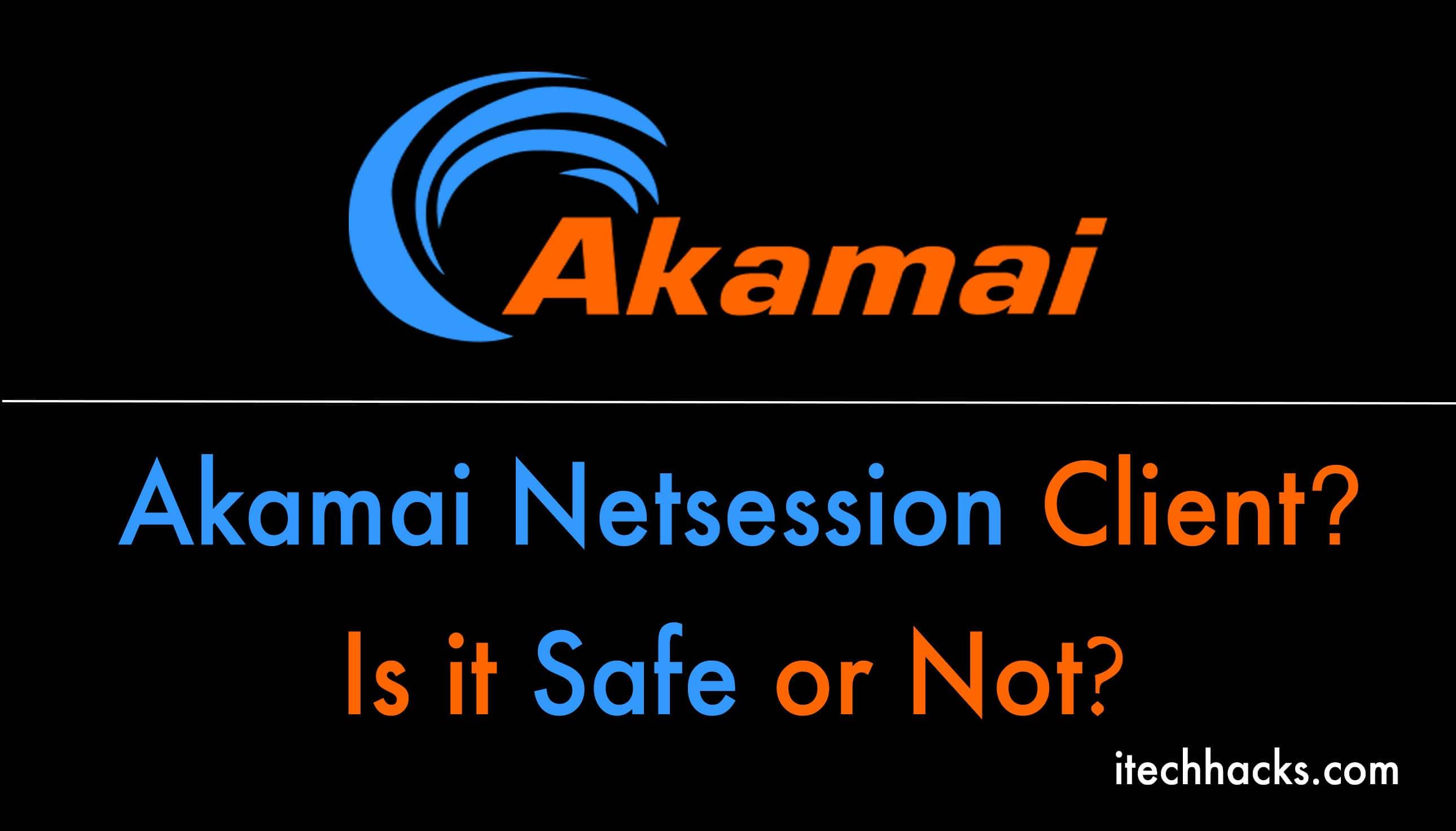 what akamai session