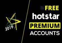 Free Premium Hotstar Accounts & Passwords 2019 - Hotstar Account Generator