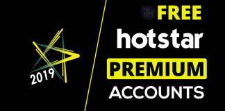 Free Premium Hotstar Accounts & Passwords 2019 - Hotstar Account Generator